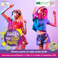 Go back to the 90's to celebrate with children's hospice