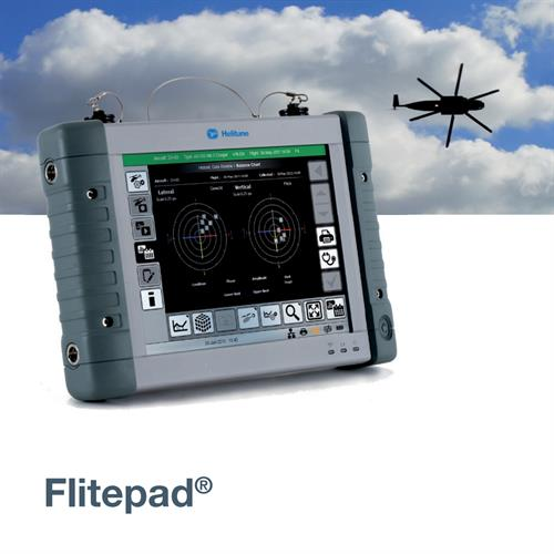 A ruggedized touch screen tablet PC developed for Helitune.