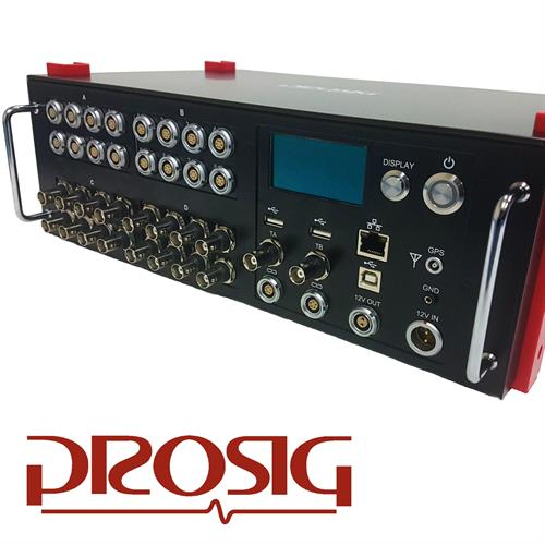 DATS-tetrad Data Acquisition System developed for Prosig Limited.