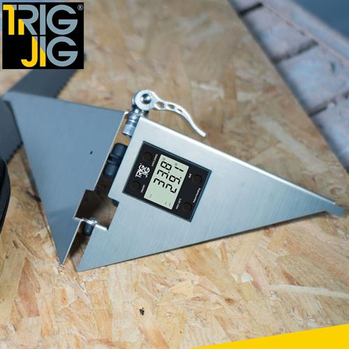 TrigJig (UK Patent Applied For) is an innovative tool that makes cutting and fitting coving or skirting easy developed for HICI Limited.