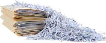 Confidential shredding.