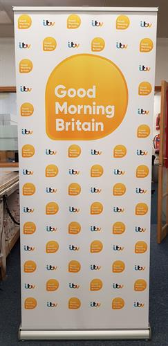 Good Morning Britain Roller Banner