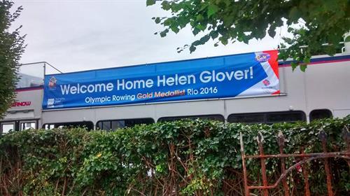 Helen Glover Banners