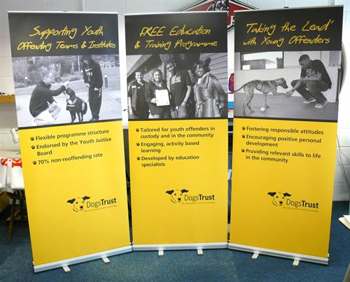 Dog Trust Roller Banners