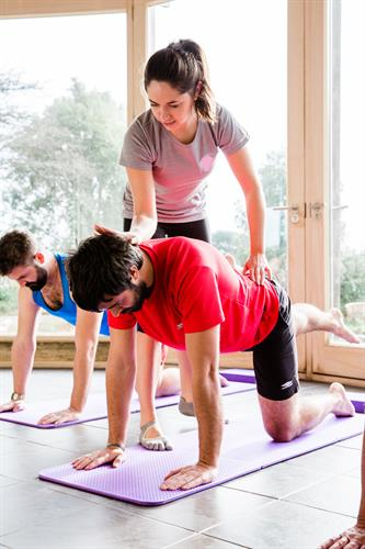 Men do Pilates to you know!