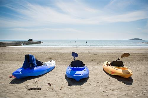 Water sports hire at Millendreath