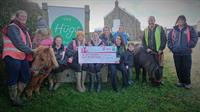 Hugs Foundation receives £20,000 grant to help pay for a new horsebox