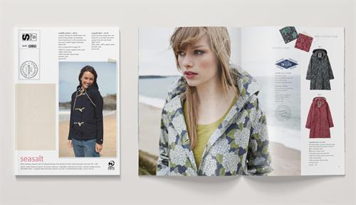 Catalogue design for Seasalt