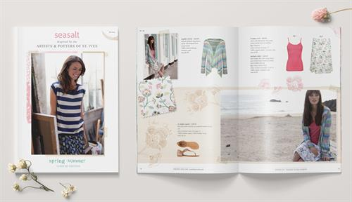 Catalogue spread for Seasalt