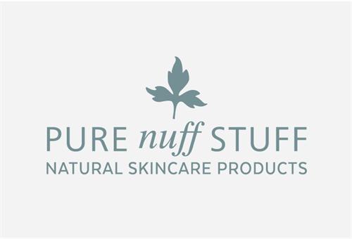 Branding for penzance skincare company Pure Nuff Stuff