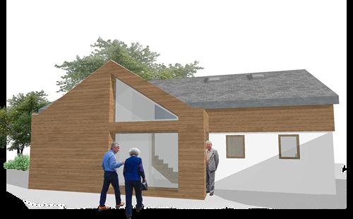 new dwelling, penzance