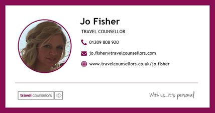 Jo Fisher - Travel Counsellor