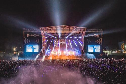 Sundown Festival AV/ sound lighting and Outdoor LED screens