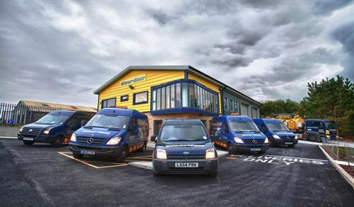 Our Redruth depot/office