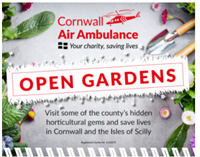 Open Gardens in aid of Cornwall Air Ambulance