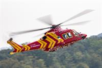 Feature your business logo on Cornwall's new air ambulance helicopter