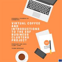 Virtual Coffee and Introductions to the ESF Business Clusters Project