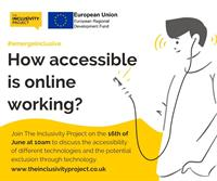 How accessible is online working?