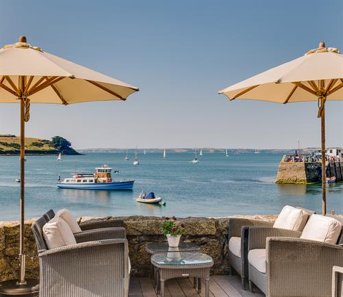 The Idle Rocks Terrace, St Mawes