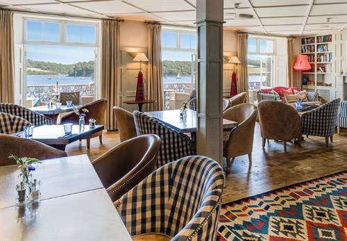 Upper Deck Dining at St Mawes Hotel