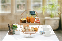 Fowey Hall Hotel launches two new 'Edible Garden' afternoon teas including one with Beatrix Potter's own recipe