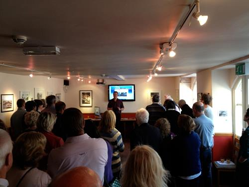 Spencer Smart of Cornish Rock Web Design introducing his new Chamber website