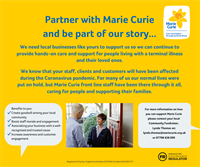 FESTIVE FUNDRAISING for your local Marie Curie Nursing Service