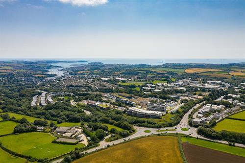Penryn Campus Arial View