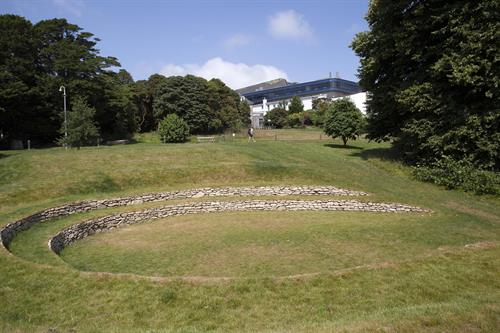Grounds with amphitheatre
