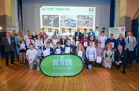 Cornish sporting stars gather for awards presentation