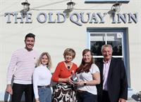 Special delivery for Old Quay Inn