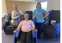 Chair donation is worth its weight in gold
