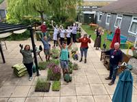 Cornwall Care, Eden Project and Cornwall College team up to makeover care home gardens