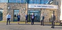 Cornish leisure centres reopen