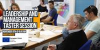 Leadership and Management - FREE Online Taster Session