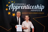 Shortlist announced and public vote open - 2021 Cornwall Apprenticeship Awards
