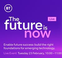 The Future is Now, Live: Tuesday 23 February