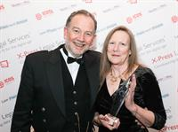 Local couple honoured at national award ceremony