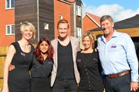 Another great team event with Greg Rutherford
