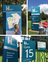 Manchester City Council  Heaton Park signage