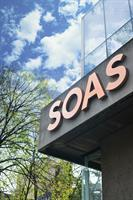 SOAS  University of London   Signage design