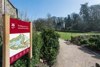 National Trust  Stourhead  Signage design