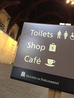 Houses of Parliament  Signage design