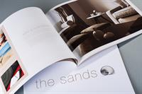 Sands property brochure design