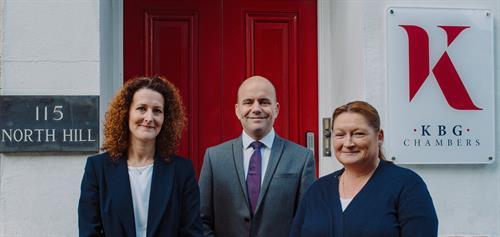 Colin palmer the Senior Clerk, with Sally & Bev