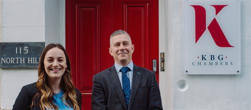 Civil Clerking Team - Grace & Jamie