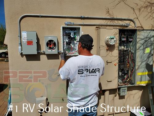 PEP Solar's installs are clean and we provide a satisfaction guarantee for your solar design.