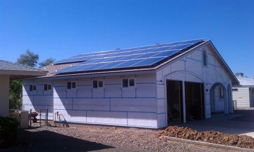 During your home build or after, PEP Solar makes it happen.