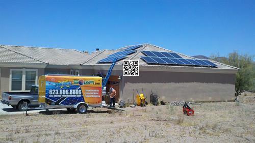 PEP Solar installs in all regions in Arizona