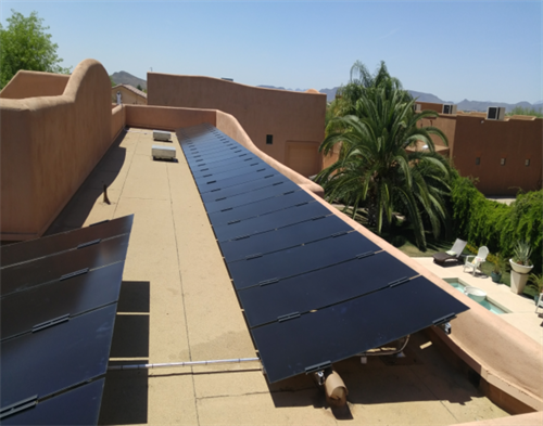 PEP Solar's solutions are custom and each install is exactly different based on needs and requirement our customer supplies after we educate what exactly is being purchased vs what is possible.